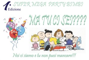 Party Bimbi Arome 3